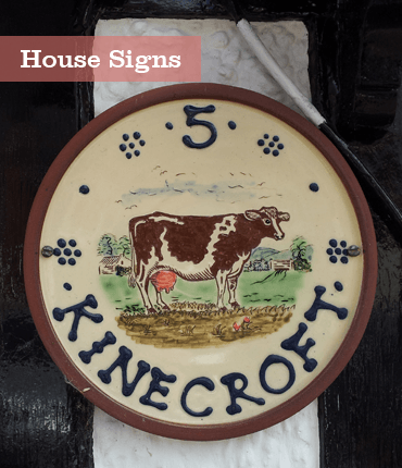 house-signs